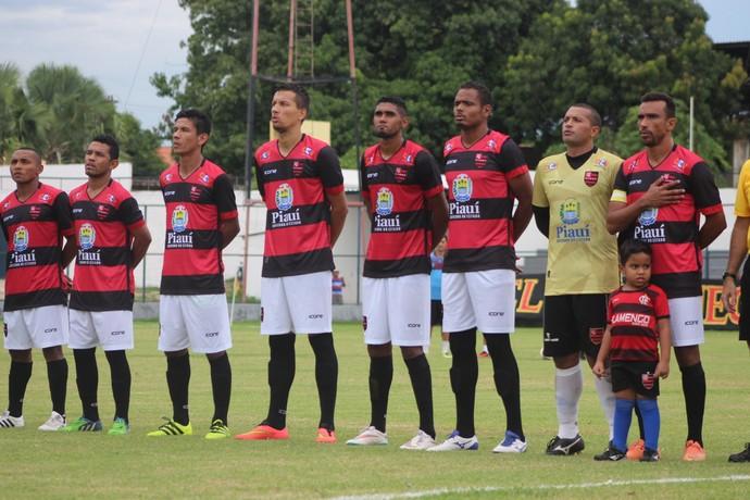 Eduardo, Flamengo-PI  (Foto: Renan Morais)