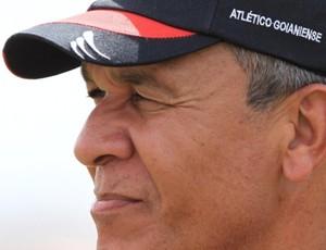 Hélio mostrou motivação para estreia contra o invicto Flamengo (Foto: Wildes Barbosa/O Popular)