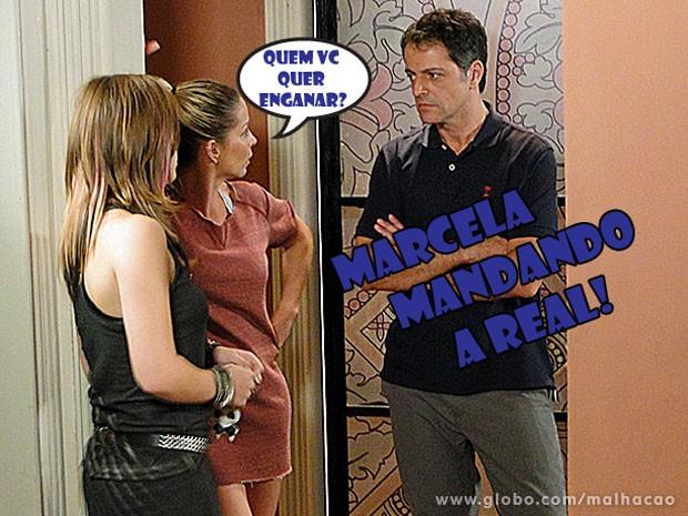 Valeu, Marcela! A mãe do Gil é super liberal e tá dando mó força pra Lia :) (Foto: Malhação / Tv Globo)