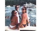 Filha de Romário posta foto de biquíni com as amigas