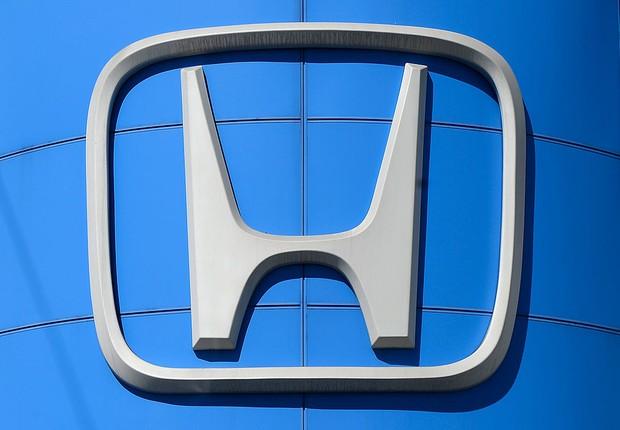 Logo da Honda é visto em concessionária da montadora (Foto: Justin Sullivan/Getty Images)