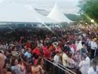 Missa a padre Libério reúne milhares de fiéis em Leandro Ferreira
