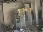 Ladrões explodem caixa eletrônico em agência de Cavalcante, Goiás