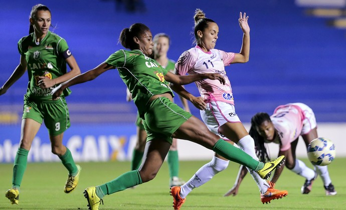 São José futebol feminino x Rio Preto feminino (Foto: Leandro Martins/Allsports)