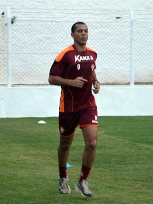 Leandro ferreira, do Boa Esporte (Foto: Tiago Campos)