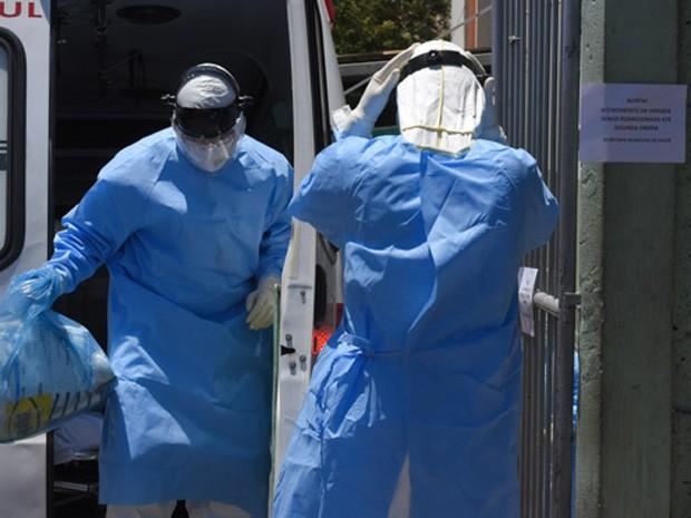 Paciente está isolado em quarentena, assim como os funcionários da UPA.  (Foto: Fernanda Carvalho/Estadão Conteúdo)