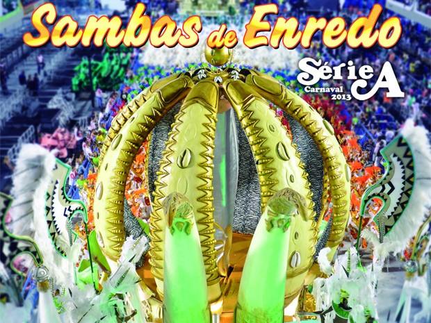cd sambas de enredo rio 2013