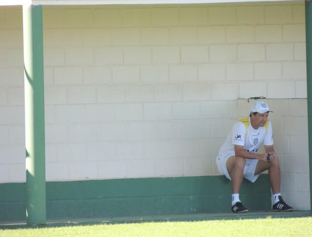 Adilson Batista durante treino do Figueirense, nesta sexta (Foto: Marcelo Silva / globoesporte.com)