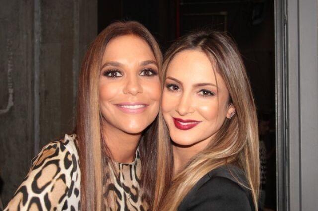 Ivete Sangalo e Claudia Leitte (Foto: Reinaldo Marques/Gshow)