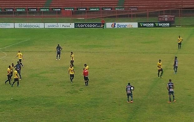 Copa Espírito Santo Sub-20 2013: Rio Branco-ES x São Mateus (Foto: Reprodução/AA São Mateus)