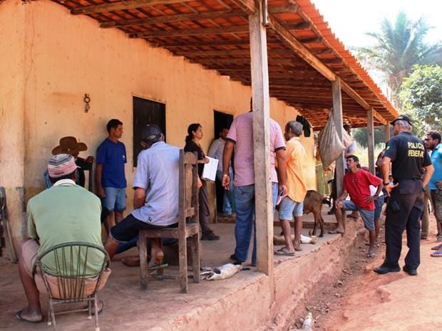 Grupo Móvel resgata trabalhadores em condições precárias em fazenda no Maranhão (Foto: Divulgação MPT/MA)