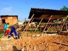 Reintegração de posse em Manaus retira casas de área do Prourbis