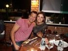 Malvino Salvador e Sophie Charlotte festejam aniversário de Juliana Knust
