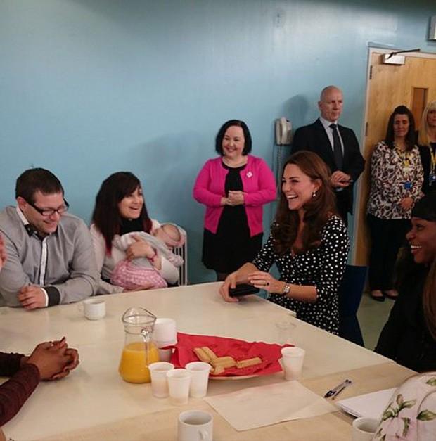 Kate Middleton em visita oficial (Foto: Reprodução/ Instagram)