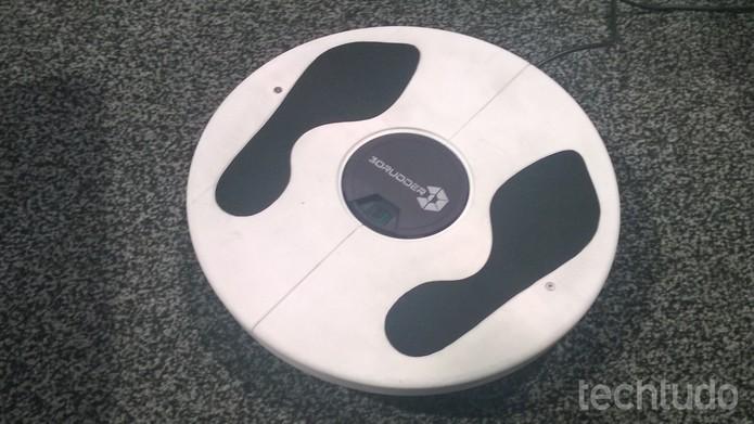3DRudder (Foto: Elson de Souza/TechTudo)