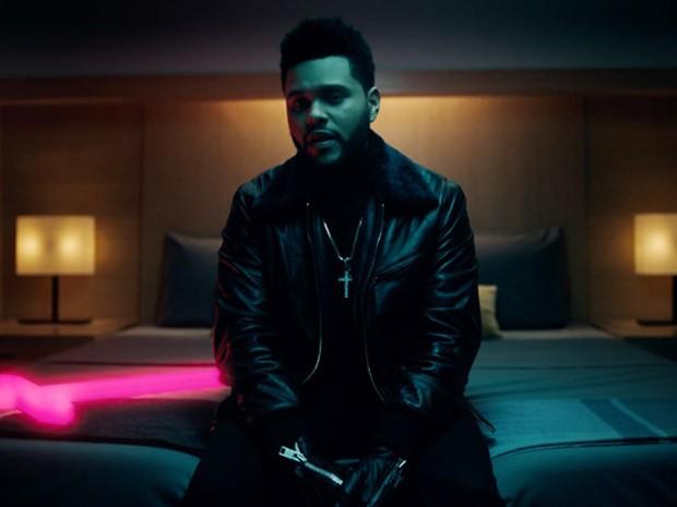 The Weeknd no clipe de 'Starboy' (Foto: Divulgação)