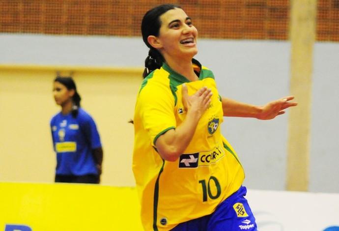 Lucélia brasil futsal (Foto: Reprodução Facebook)