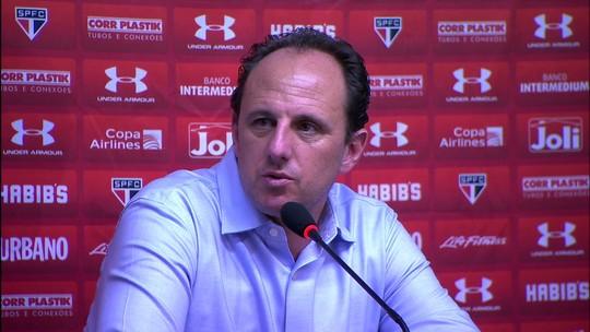 """Ceni vê São Paulo superior e pede reação: """"Precisamos voltar a vencer"""""""