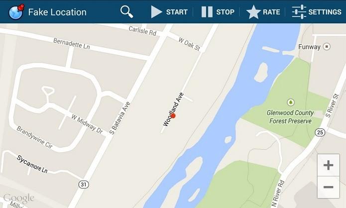 App Fake Location permite falsificar a localização do GPS no Android (Foto: Divulgação)