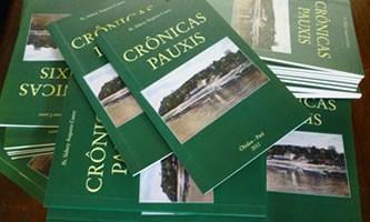 Crônicas Pauxis, lançado em 2012, retrata a história de Óbidos, oeste do PA. (Foto: Arquivo)