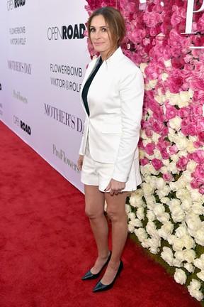 Julia Roberts em première em Los Angeles, nos Estados Unidos (Foto: Kevin Winter/ Getty Images/ AFP)