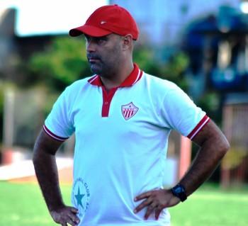 Cristian de Souza, técnico do Rio Branco-AC (Foto: Manoel Façanha/Arquivo Pessoal)