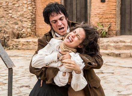 Reta final: Rubião ameaça matar Joaquina