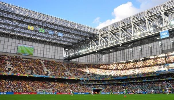 Paraná TV 1ª Edição Arena da Baixada (Foto: Gustavo Oliveira/ Site oficial do CAP)