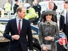Kate Middleton usa casaco de R$13 mil e arrasa no look todo cinza