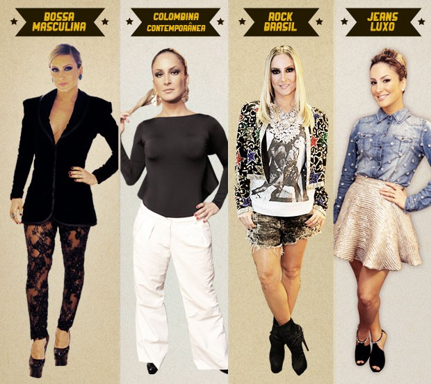 Look claudia leitte retrô the voice (Foto: The Voice Brasil/TV Globo)