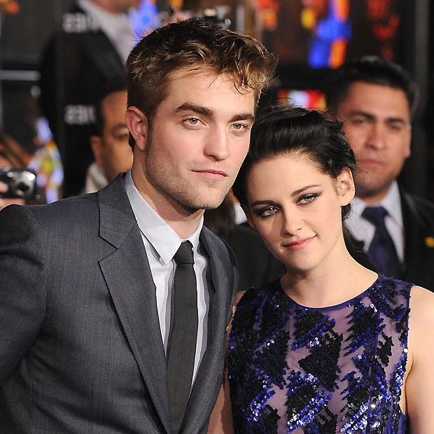 """Robert e Kristen se conheceram nos bastidores de """"Crepúsculo"""" (2008) (Foto: Getty Images)"""