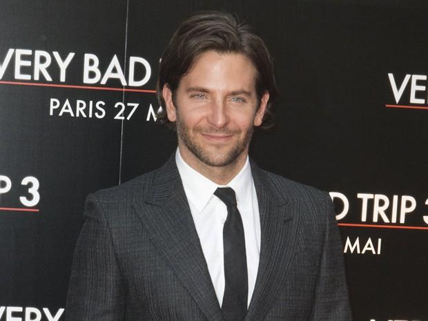 Bradley Cooper divulga 'Se beber, não case 3' na França (Foto: AP Photo/Jacques Brinon)
