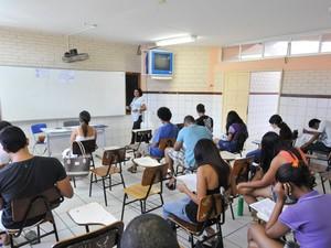 Seleção de estagiários para o Tribunal de Justiça da Bahia (Foto: Nei Pinto/Ascom TJBA)