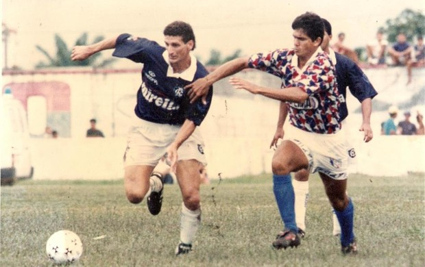 """No Remo, o ex-jogador era conhecido como """"Braddock"""" (Foto: Arquivo pessoal)"""