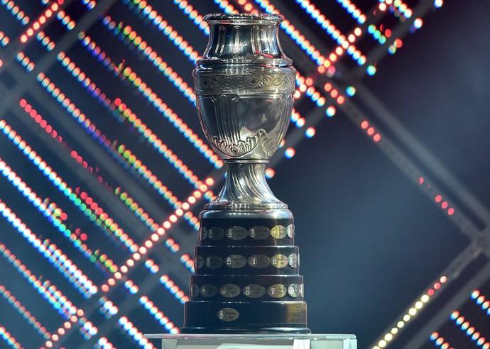 Taça Copa América Chile 2015 (Foto: Agência AFP )