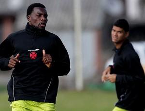 carlos tenório vasco treino caxias do sul (Foto: Marcelo Sadio / Vasco.com.br)