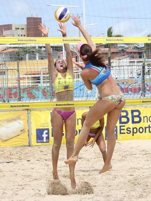 Circuito Brasileiro vôlei de praia Fortaleza final (Foto: Érika Marinho)