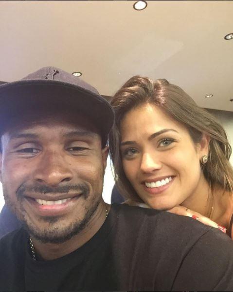 Leandrinho e Talita Rocca (Foto: Reprodução/Instagram)