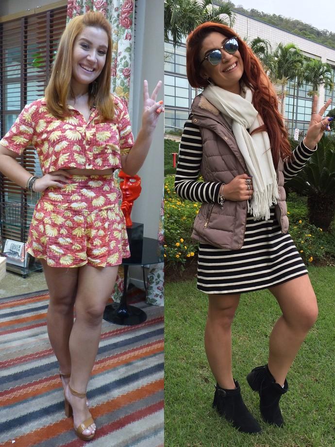 Bianca Andrade mostra antes e depois da dieta que a fez perder 12 quilos em dois meses (Foto: Gabi Freitas / Gshow)