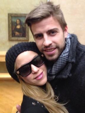 Shakira e Gerard Piqué (Foto: Reprodução / Instagram)