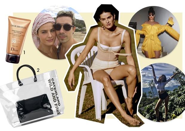 Guia de verão - Isabeli Fontana (Foto: Rafael Pavarotti/Arquivo Vogue, Reprodução/Instagram e Divulgação)