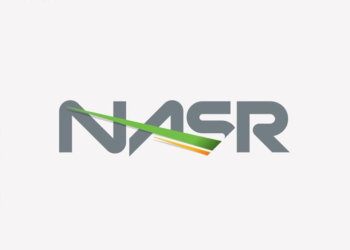 Logomarca de Nasr foi concebia pela IMX Talent (Foto: Divulgação/IMX)