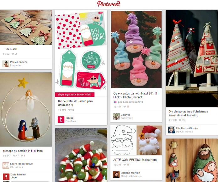 pinterest natal (Foto: Reprodução/Pinterest)