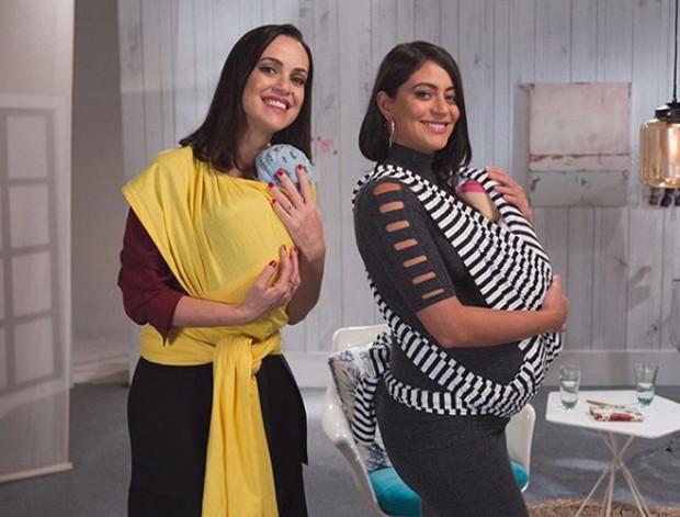 Crisciane Rodrigues e Carol Castro (Foto: Reprodução/Instagram)