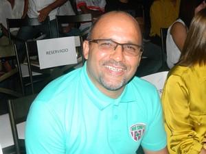 prsidente joão chico (Foto: Kaleo Martins/Globoesporte.com)