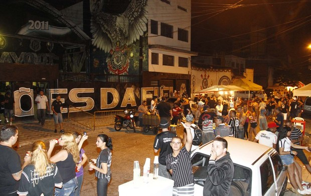 Quadra da Gaviões (Foto: Gustavo Tilio / Globoesporte.com)