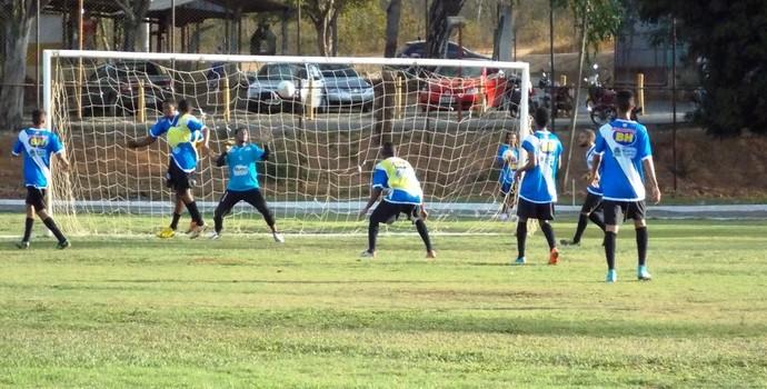 Montes Claros FC vai trabalhar com atletas da base (Foto: Ricardo Guimarães/ Assessoria MCFC)