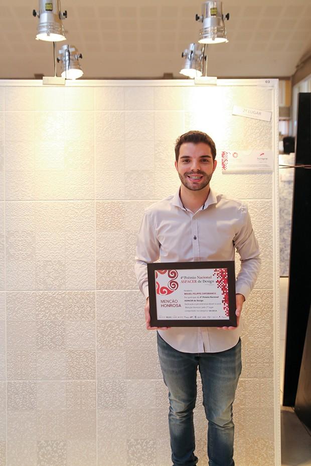 2º lugar – Miguel Felipe Capobianco – Cerâmica Formigres