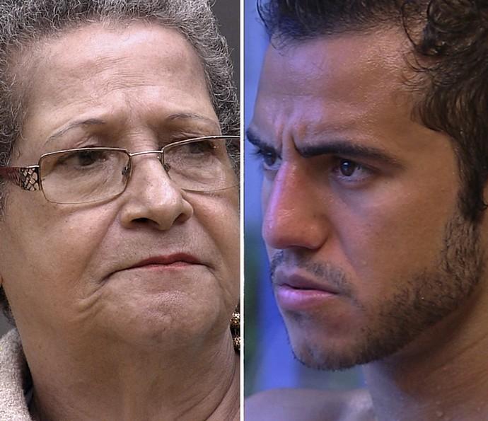 Geralda e Matheus começaram amigos e se tornaram rivais no BBB16 (Foto: TV Globo)