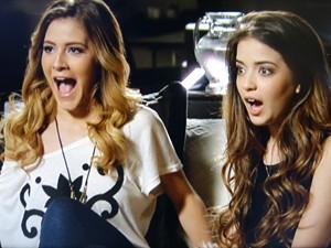 Sofia e Flaviana ficam em êxtase com possibilidade de patrocínio